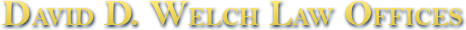 David D. Welch Law Offices logo